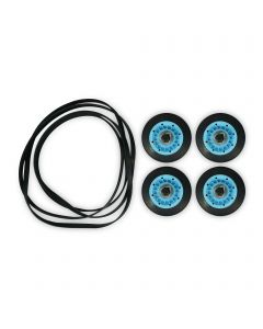 ForeverPRO FP-DC97-16782A-5PCKIT Maintenance Kit Includes 4Pc Of Dc97-16782A Drum Roller And 6602-001655 Belt for Samsung Dryer
