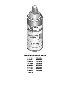 ForeverPRO 261900 Appliance Spray Paint for Whirlpool Wall Oven 277 AH334005 EA334005 PS334005