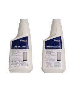 ForeverPRO 4396808P 16Oz Cleaner (2) For 50# for Whirlpool Ice Machine 1412467 AH1608022 EA1608022 PS1608022